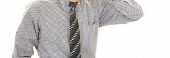 粃糠性脱毛症による薄毛の原因画像
