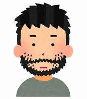 男性ホルモンと髭などの体毛との関係